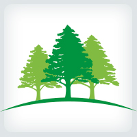 Trees - Landscaping Logo