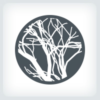 Dry Out Tree Branches Logo