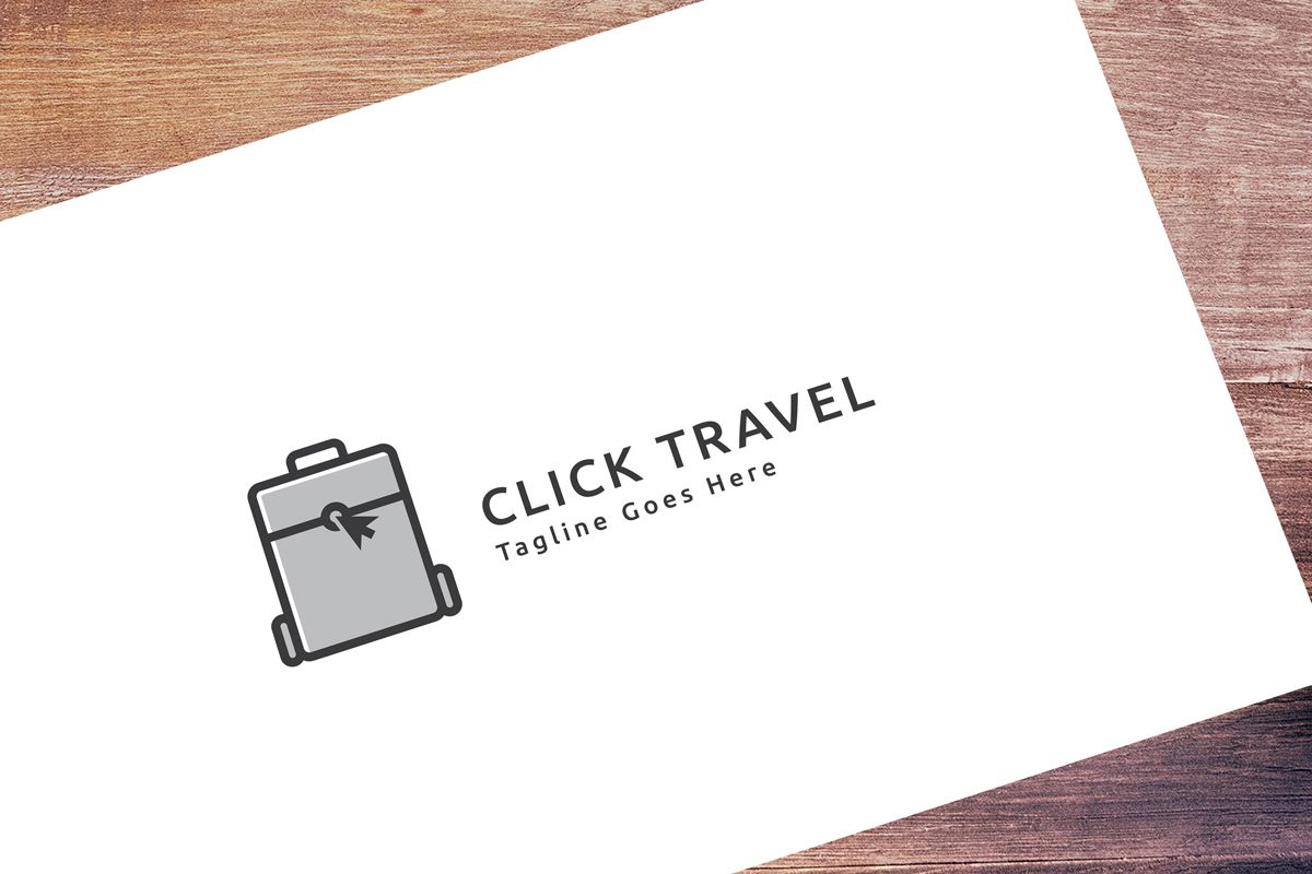 Click Travel Logo Screenshot 1
