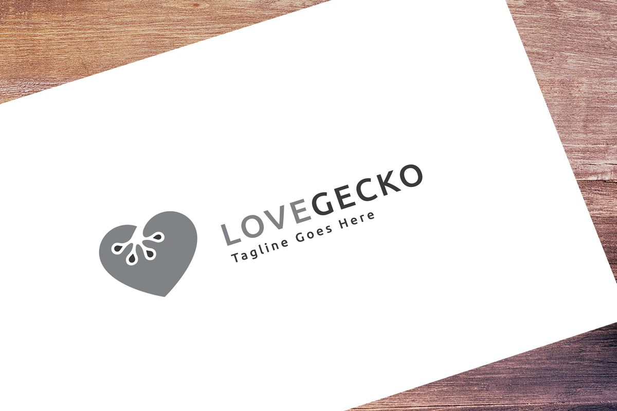 Love Gecko Logo Screenshot 1