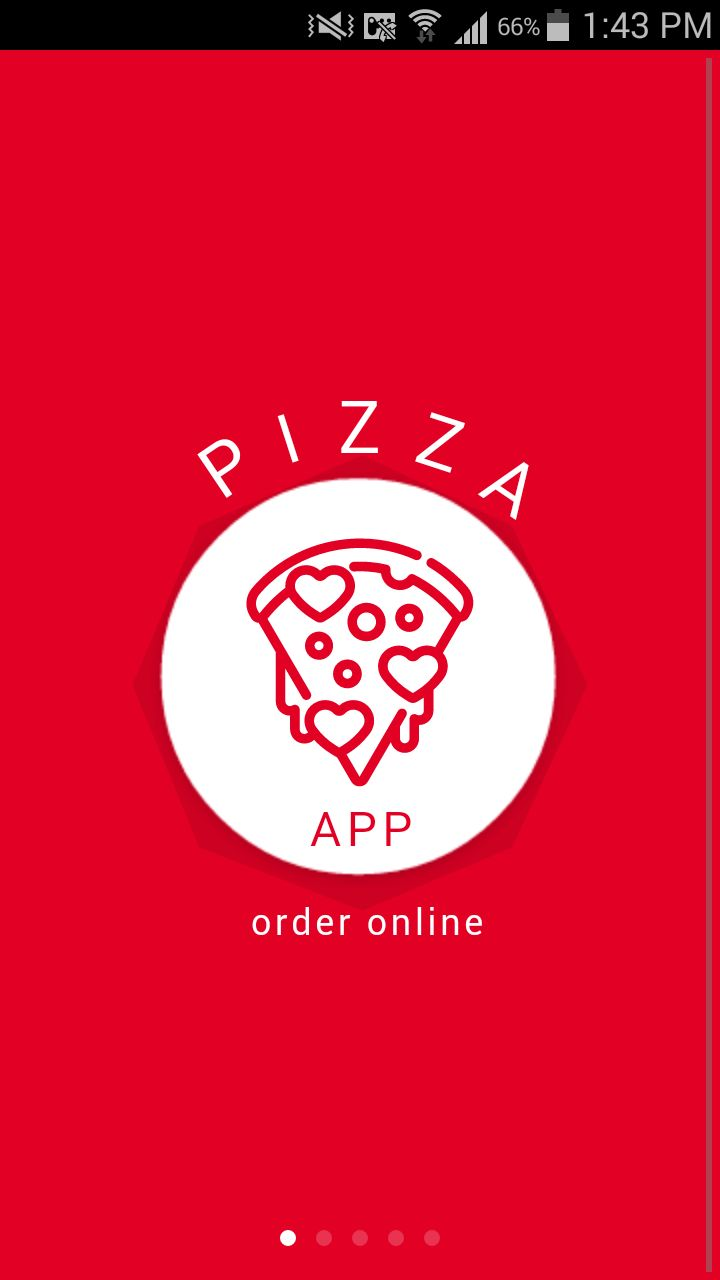 Ion Pizza - Ionic Pizza Delivery App UI Theme Screenshot 1