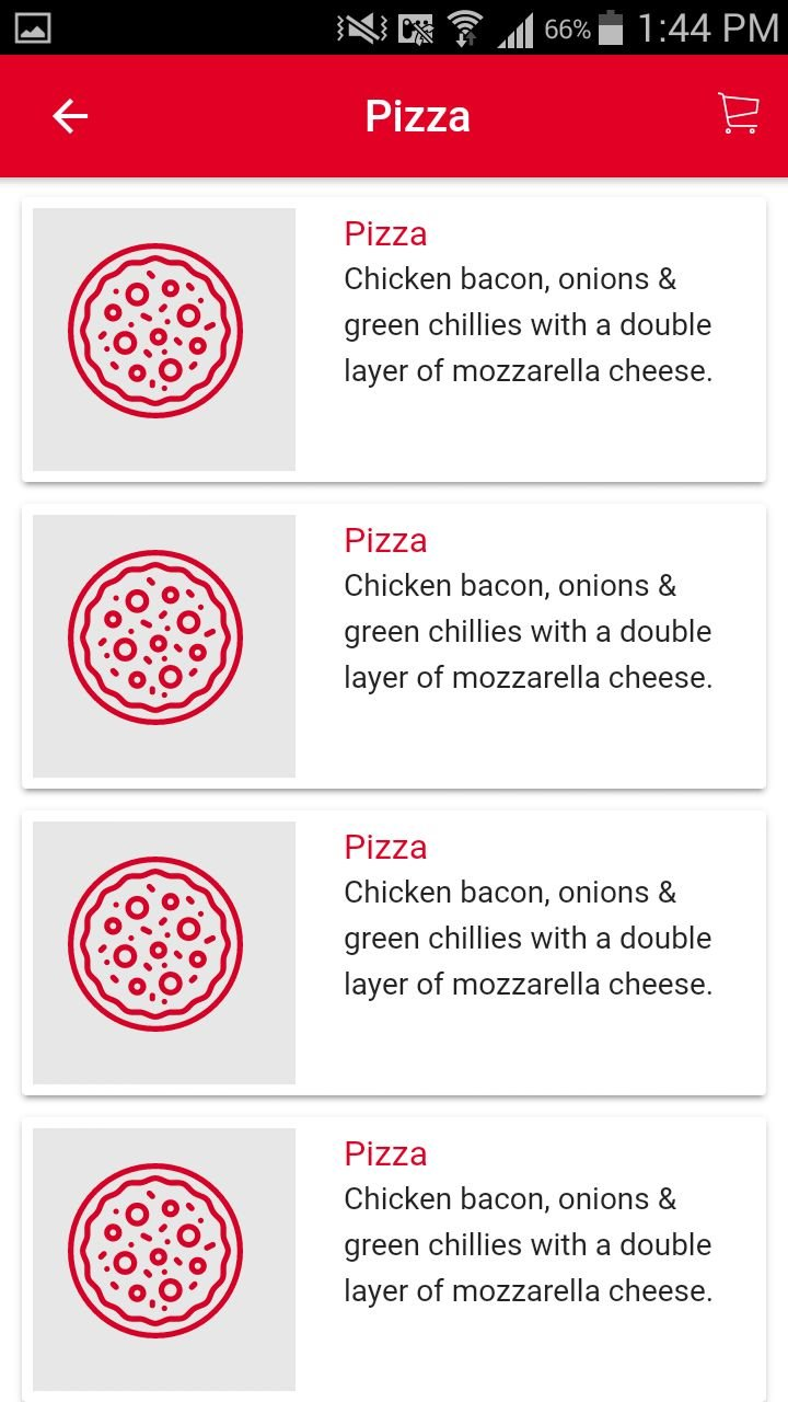 Ion Pizza - Ionic Pizza Delivery App UI Theme Screenshot 5