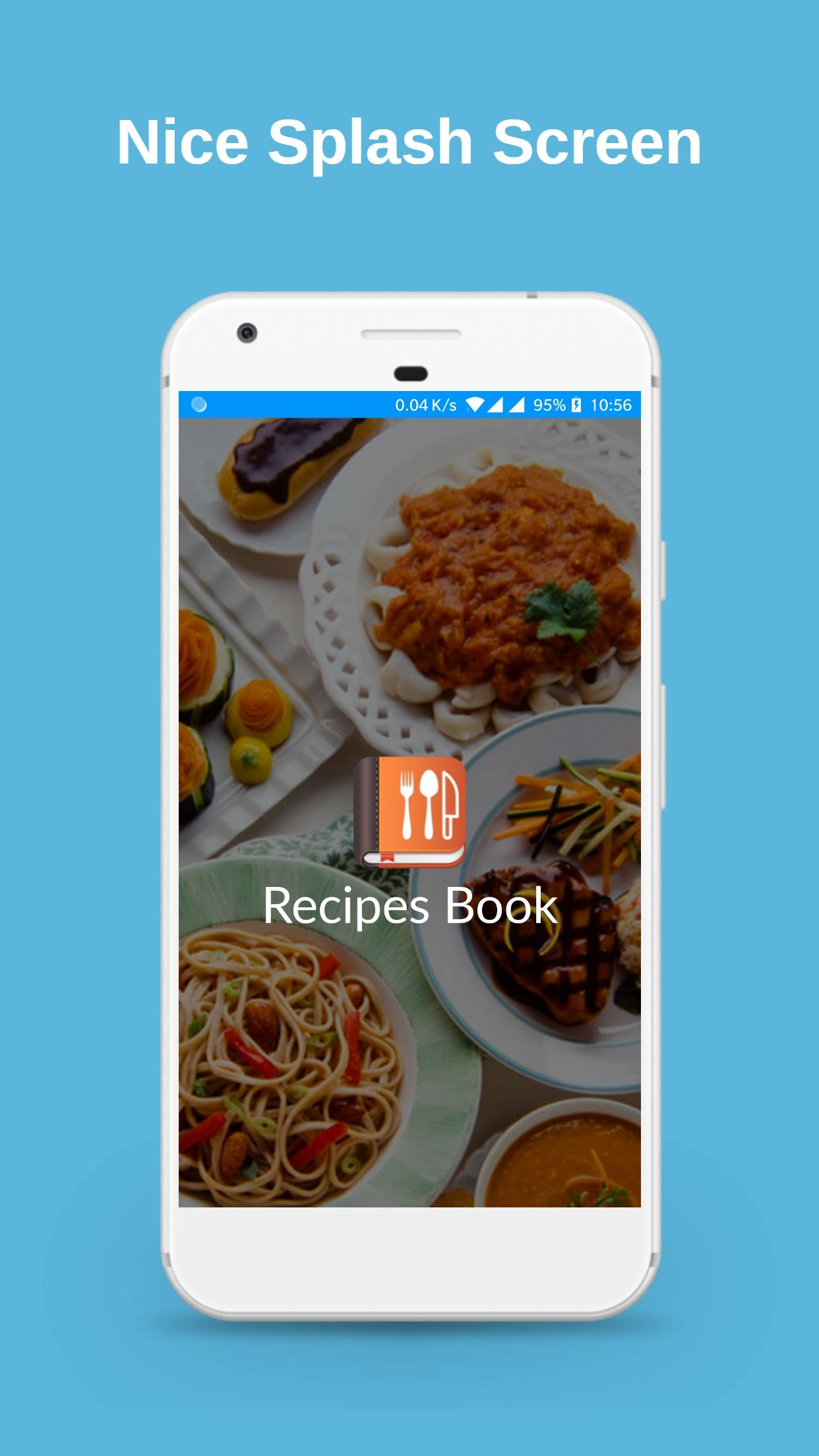 Recipes Book - Android Source Code Screenshot 1