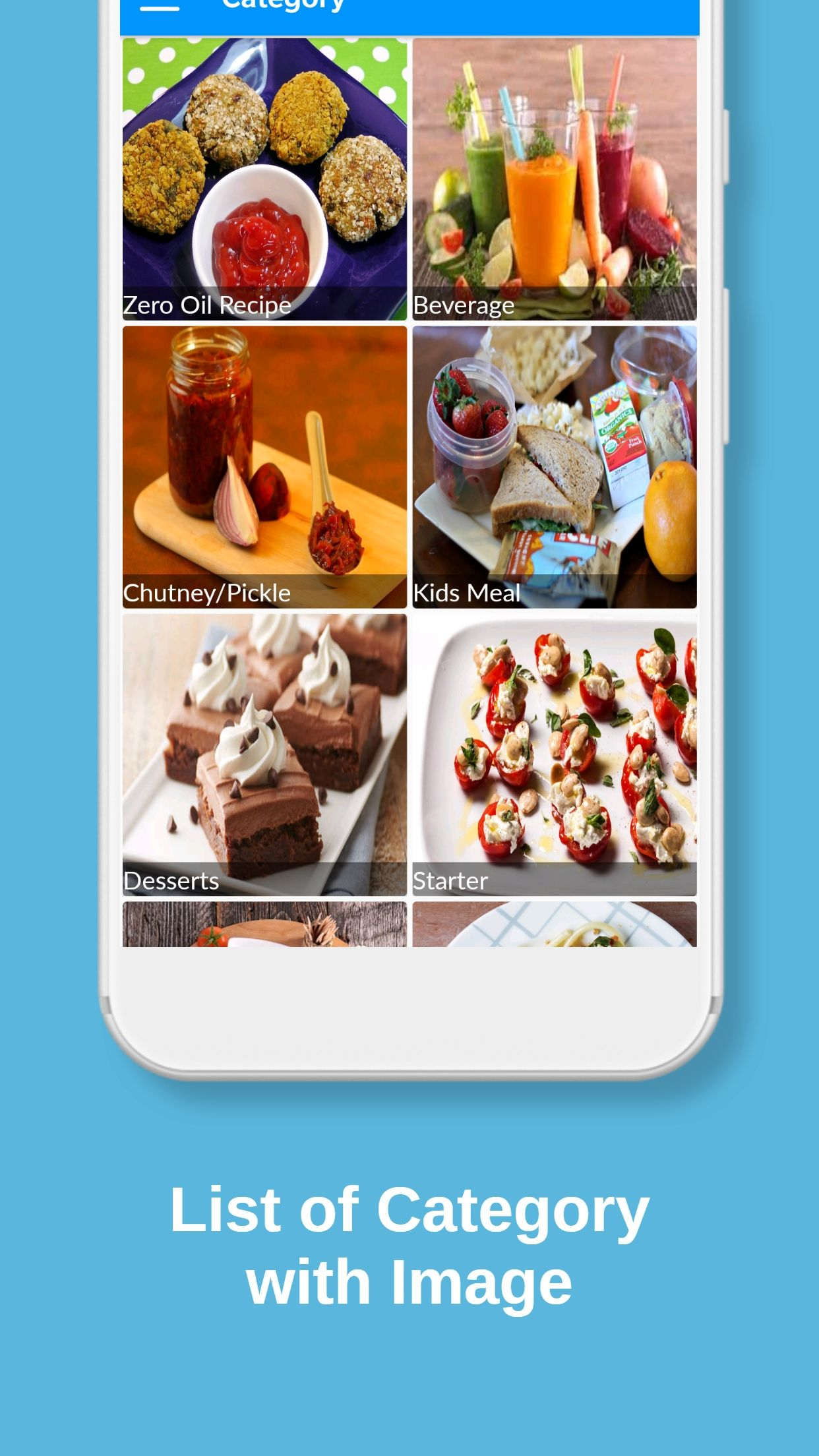 Recipes Book - Android Source Code Screenshot 4