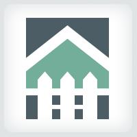Fence - Real Estate Logo