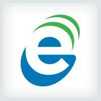 Letter E Signal Logo