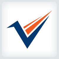 Letter V Path Logo