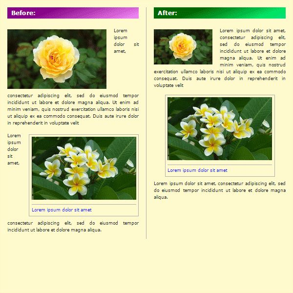 RFI-helper - Responsive Floating Images Screenshot 1