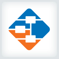 Diagram - Flowchart Logo