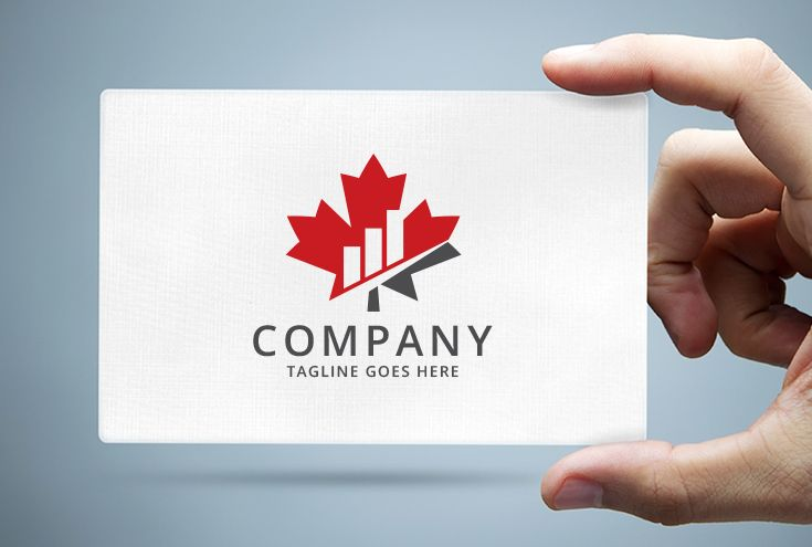 Maple Leaf Bar Charts - Financial Logo Screenshot 1