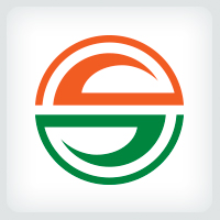 Circle Letter S Logo