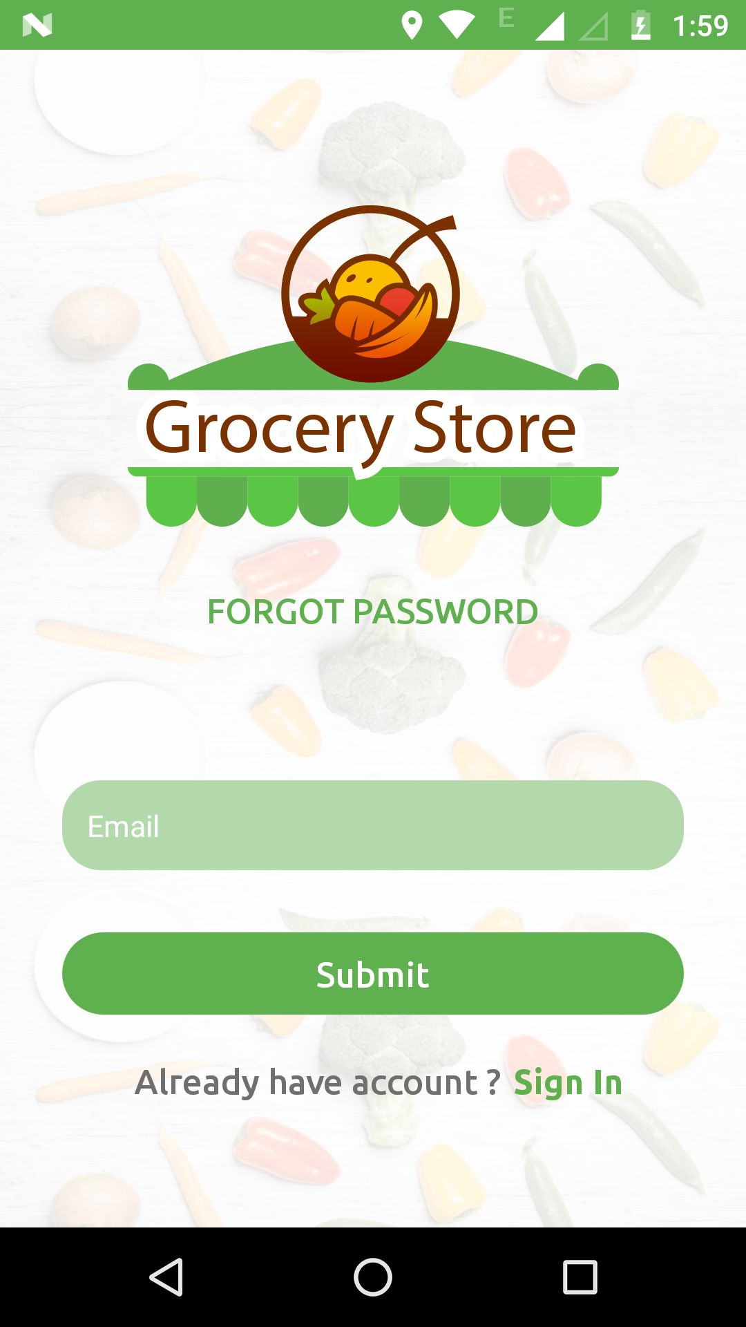 Grocery App UI Template Screenshot 7