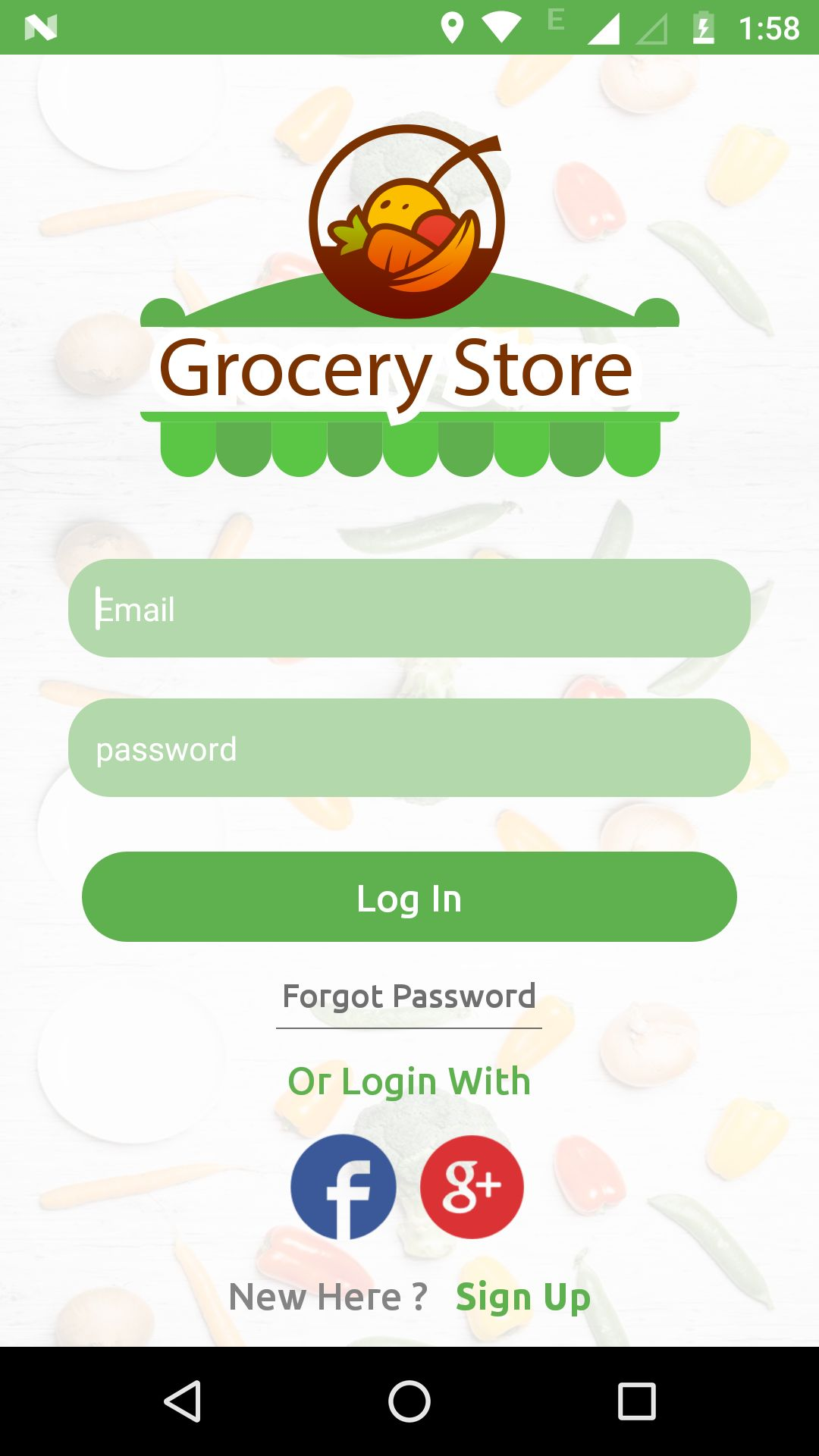 Grocery App UI Template Screenshot 14
