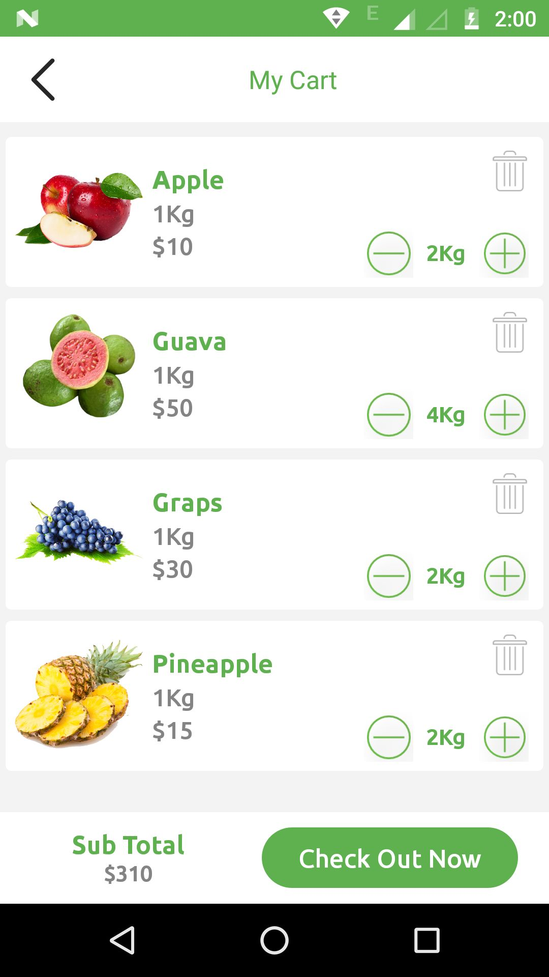Grocery App UI Template Screenshot 18