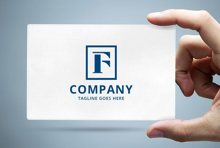 Letter F Frame Logo Screenshot 1