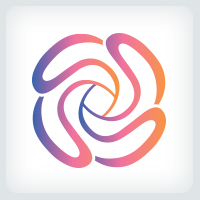 Rose - Flower Logo