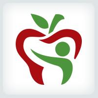 Apple Tooth - Dental Logo