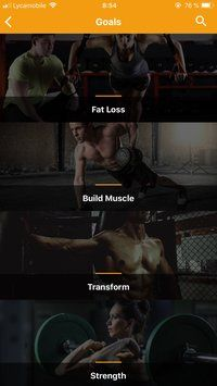 GoFit - React Fitness App Template Screenshot 1