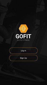 GoFit - React Fitness App Template Screenshot 3