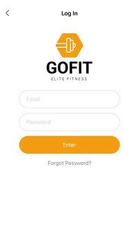 GoFit - React Fitness App Template Screenshot 4