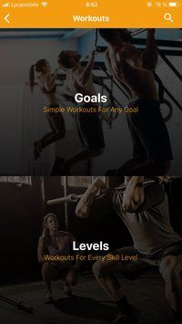 GoFit - React Fitness App Template Screenshot 5