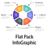 Flat Pack Infographics