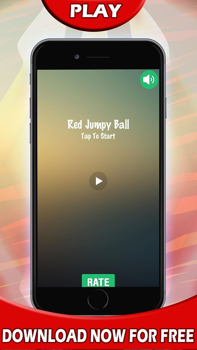 Jump Red Ball - Android and iOS Game Source Code Screenshot 3