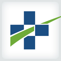 Medical Cross Path Logo