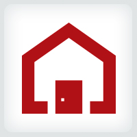 Red Home Logo