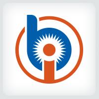 Letters BI or IB Logo
