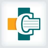 Letter C - Medical Cross Logo