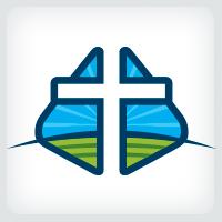 Cross Scenery - Church Logo