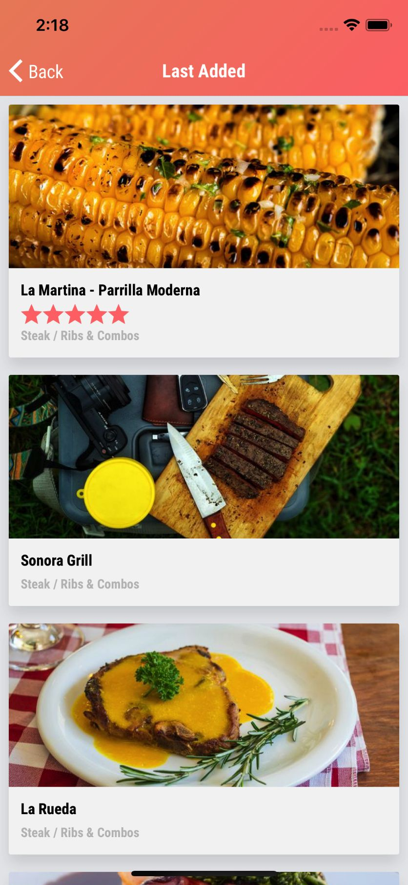 Nearme - Ionic 3 Starter for Location Based Apps Screenshot 8