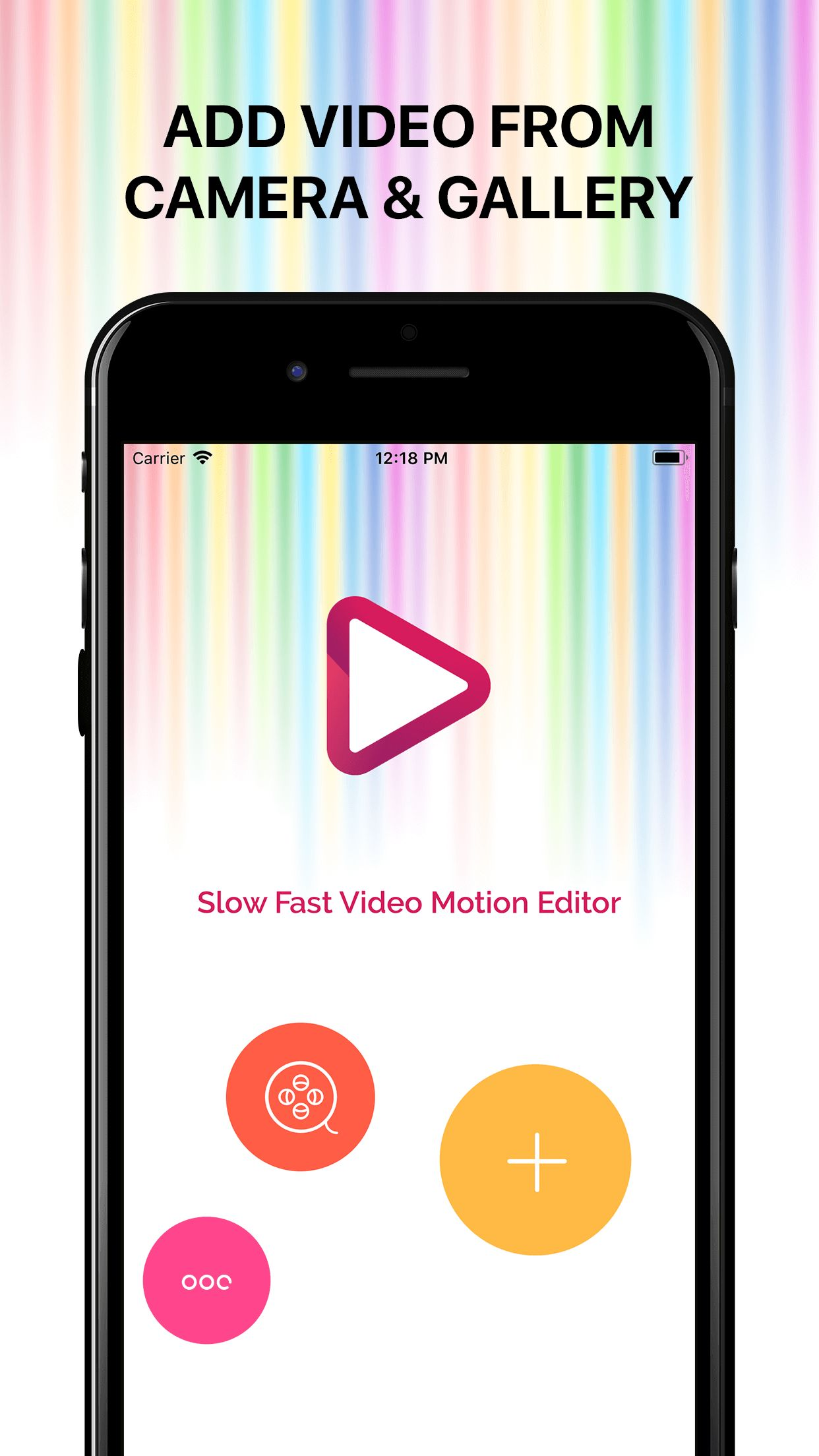 Slow Fast Motion Video Editor iOS Screenshot 6