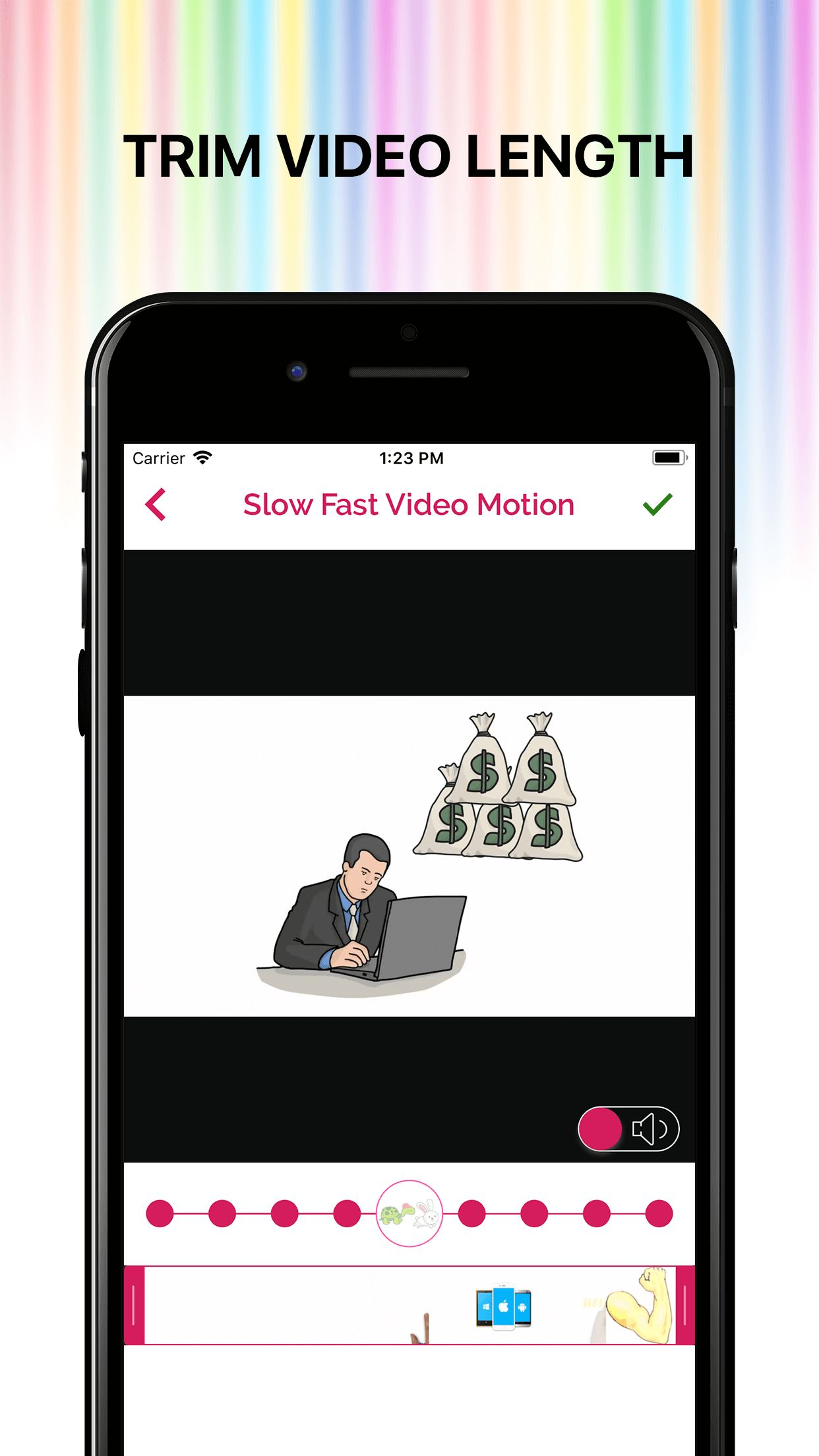 Slow Fast Motion Video Editor iOS Screenshot 7