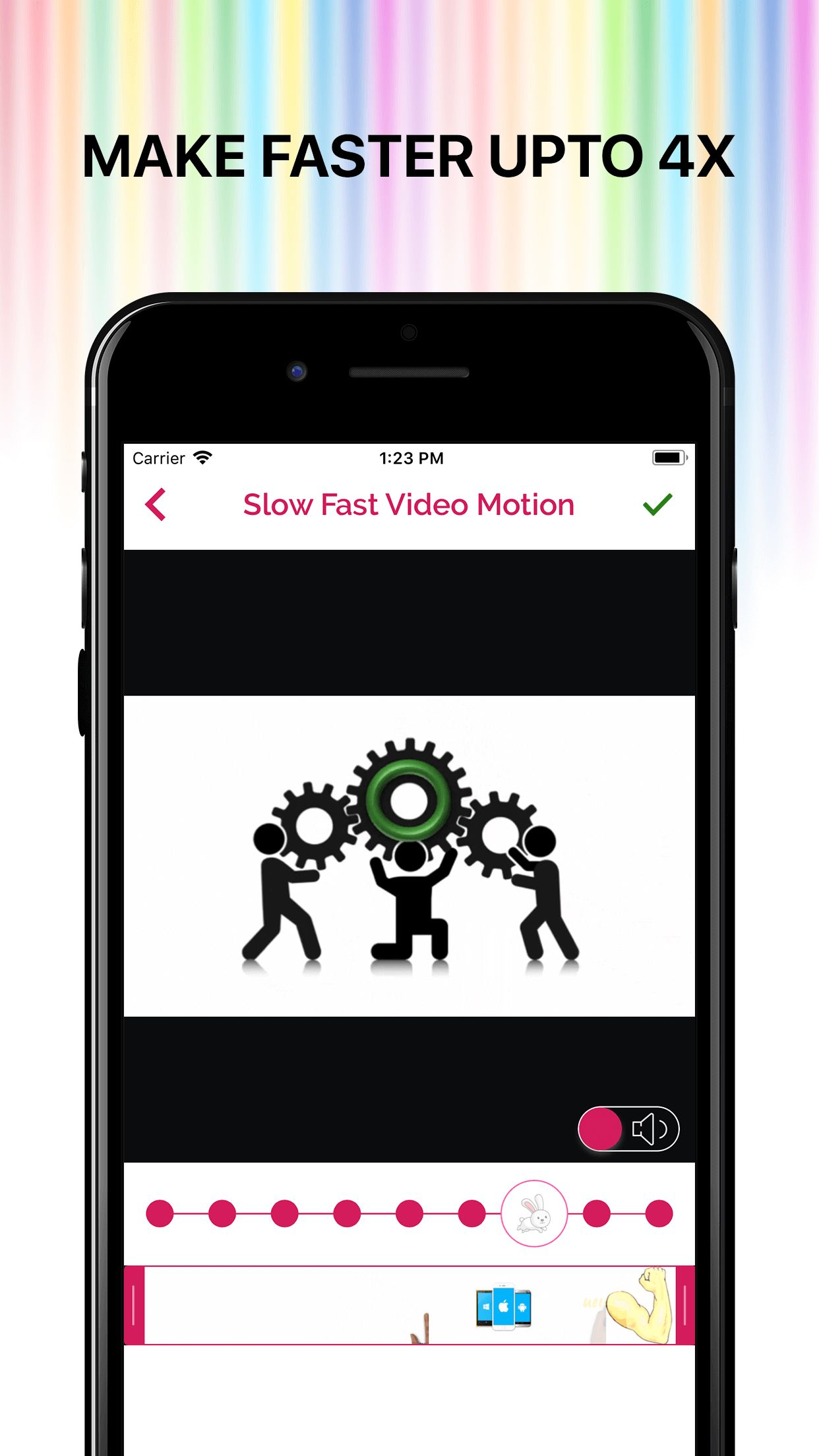Slow Fast Motion Video Editor iOS Screenshot 8