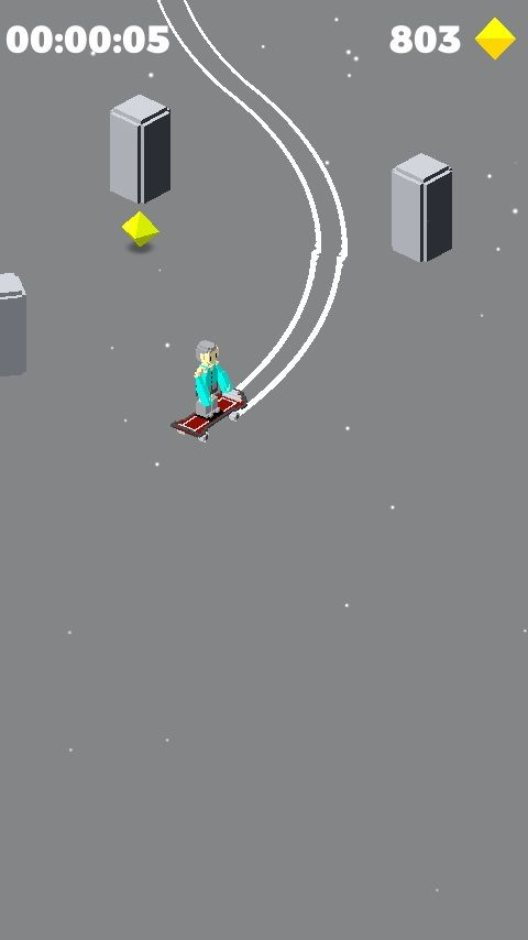 Snowy Skate - Unity Template Screenshot 3