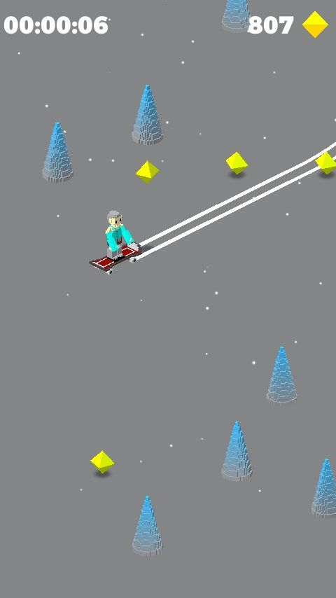 Snowy Skate - Unity Template Screenshot 7