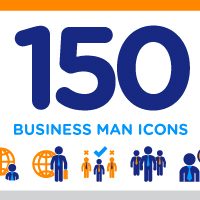 Business Man Icon Pack