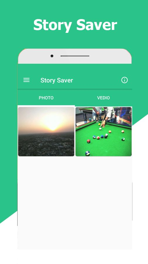 Story Saver For WhatsApp Android Template Screenshot 2