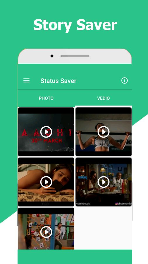 Story Saver For WhatsApp Android Template Screenshot 3