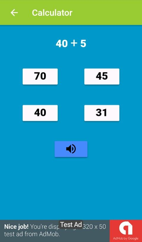 Ionic framework Mathematics game Screenshot 4