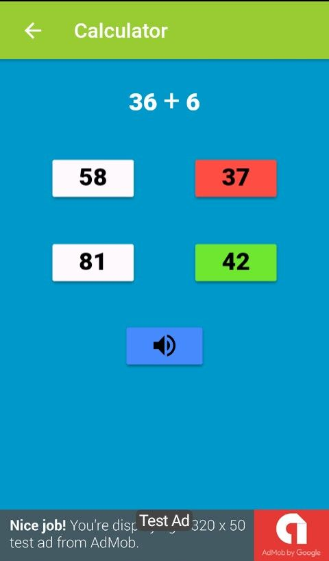 Ionic framework Mathematics game Screenshot 6