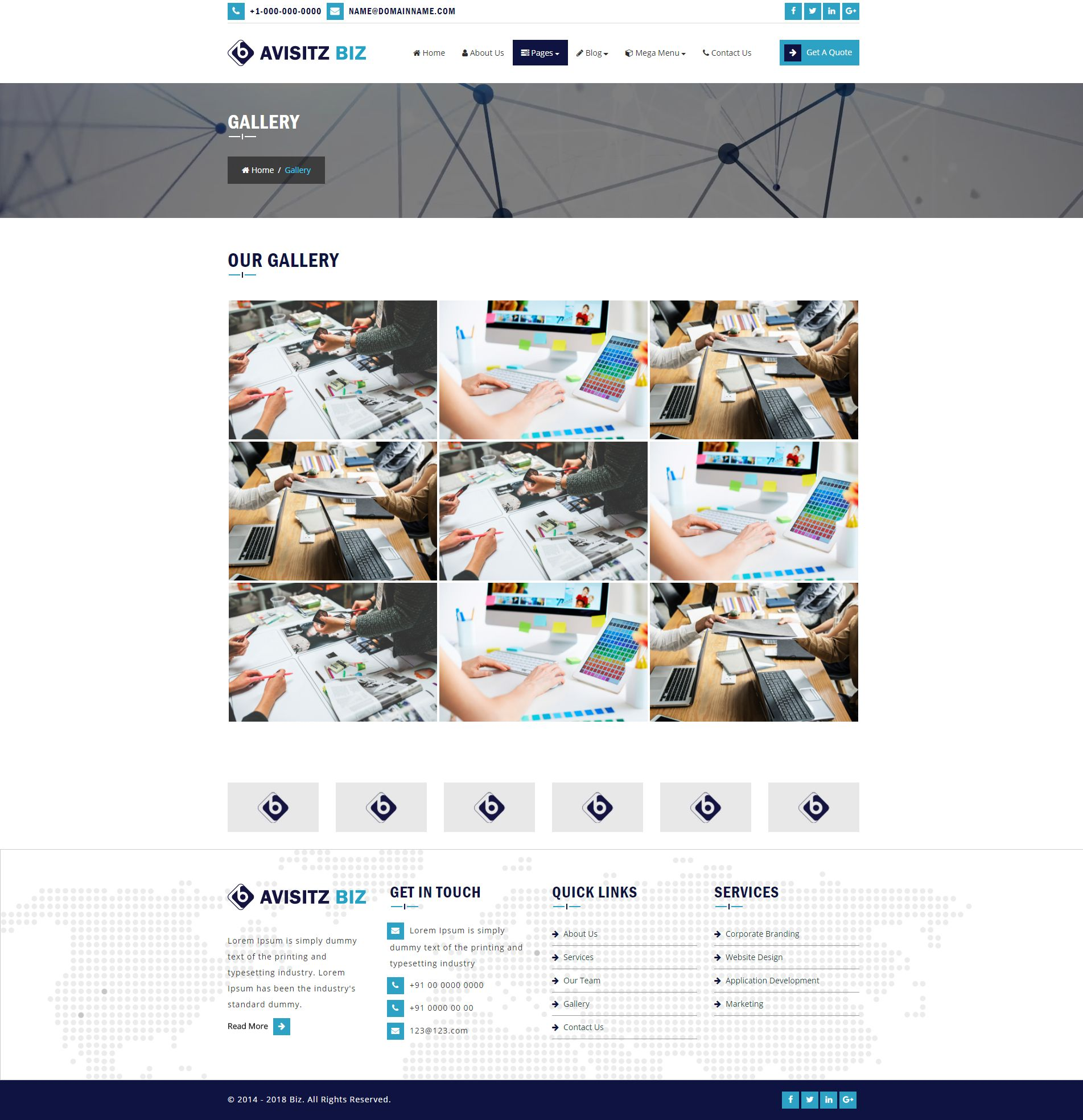 Avisitz Biz - Business Technology HTML5 Responsive Screenshot 12