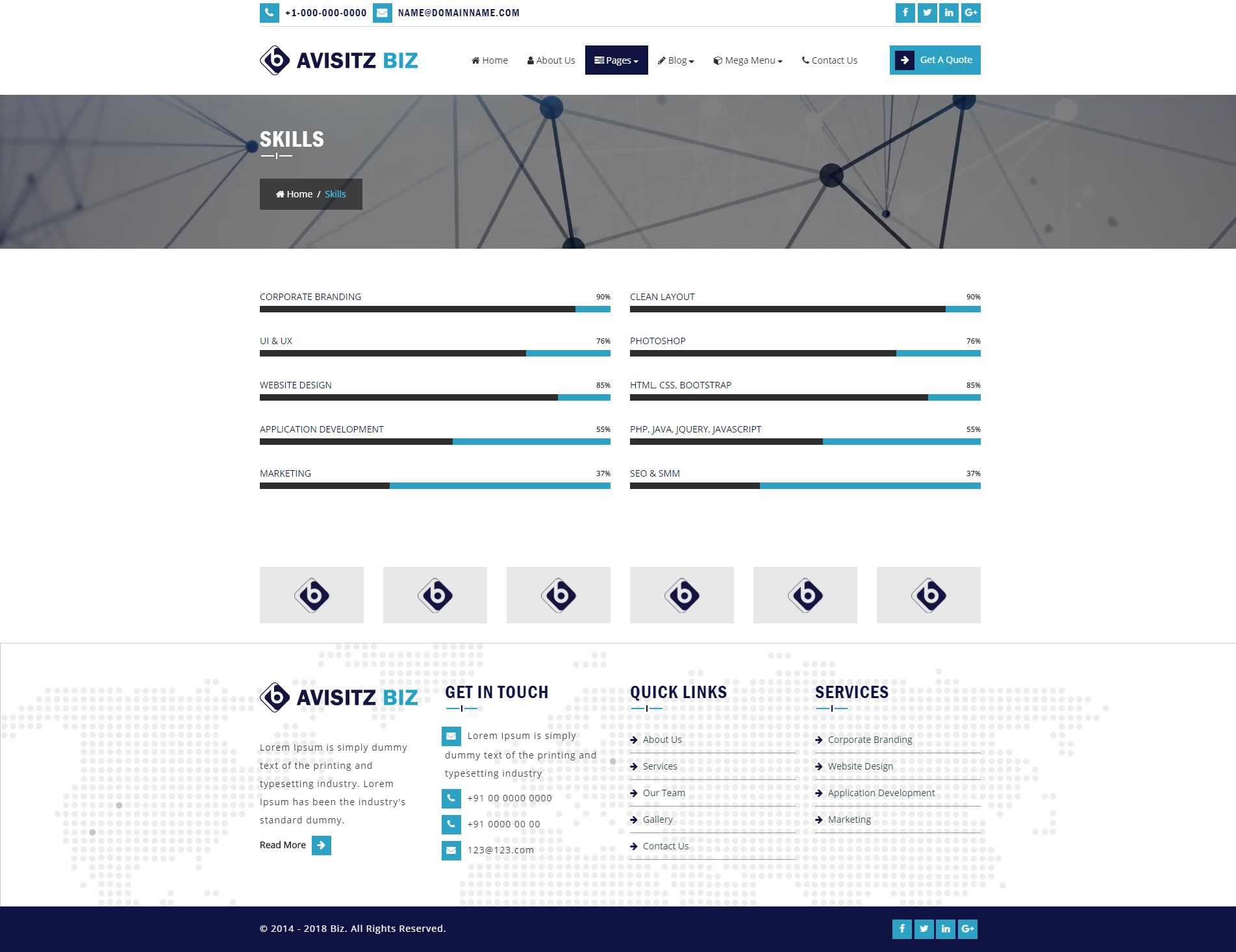 Avisitz Biz - Business Technology HTML5 Responsive Screenshot 17