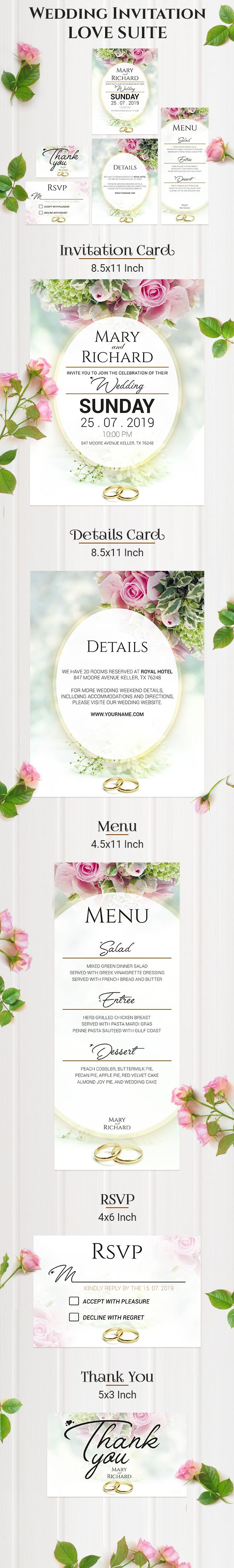 Wedding Invitation LOVE SUITE Screenshot 1