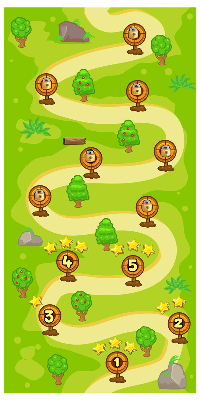 Cartoon Game Ui Set  06 Screenshot 3