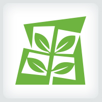 Leaves - Landscaping Logo