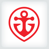 Red Anchor Logo