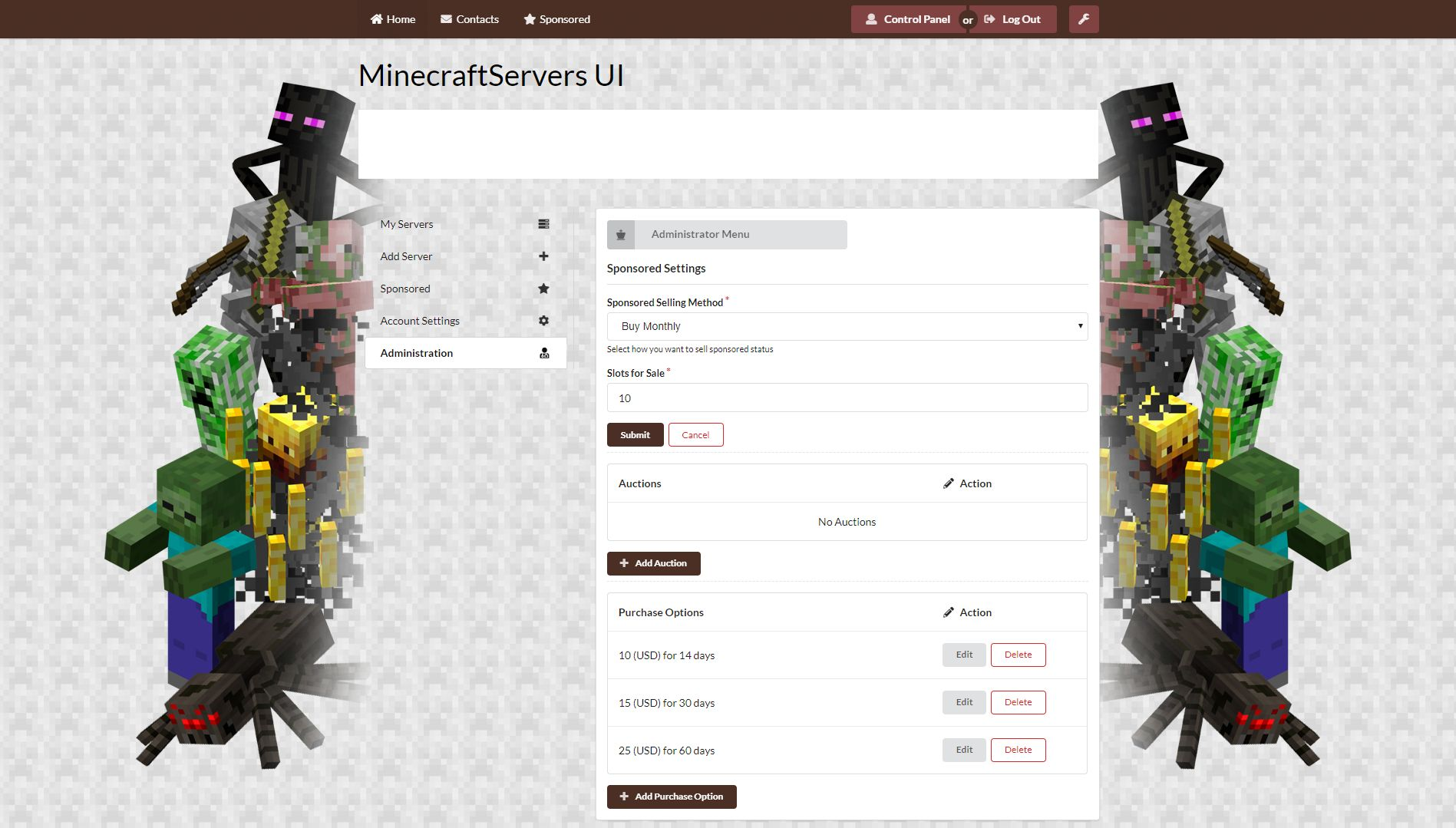 Ultimate Minecraft Server List Screenshot 7